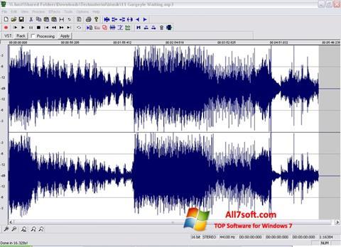 Capture d'écran Wavosaur pour Windows 7
