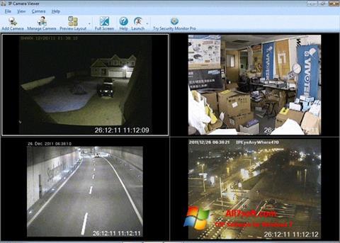 Capture d'écran IP Camera Viewer pour Windows 7
