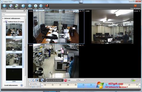 Capture d'écran Ivideon Server pour Windows 7