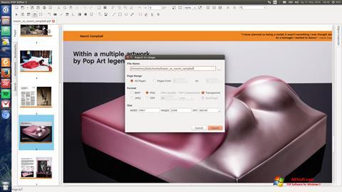 Capture d'écran Master PDF Editor pour Windows 7