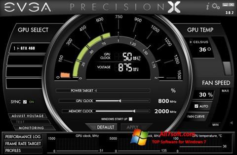 Capture d'écran EVGA Precision X pour Windows 7