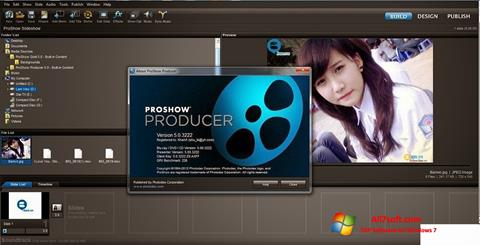 Capture d'écran ProShow Producer pour Windows 7