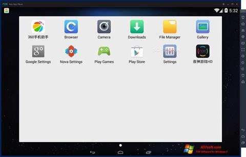 Capture d'écran Nox App Player pour Windows 7
