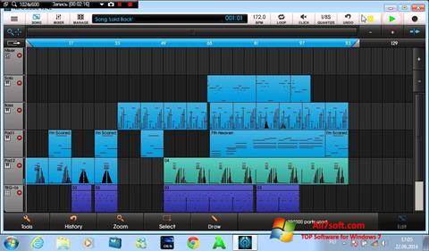 Capture d'écran NanoStudio pour Windows 7