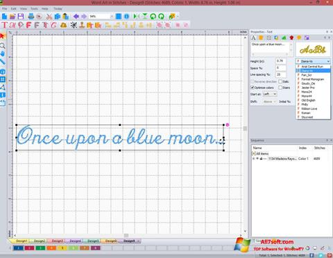 Capture d'écran Stitch Art Easy pour Windows 7