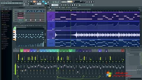 Capture d'écran FL Studio pour Windows 7