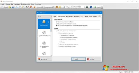 Capture d'écran Nero pour Windows 7