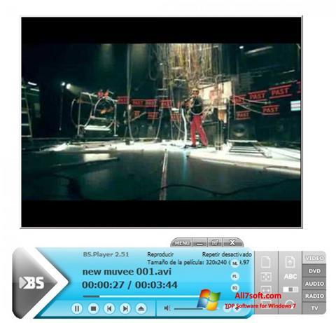 Capture d'écran BSPlayer pour Windows 7