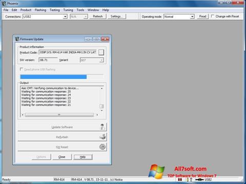 Capture d'écran Phoenix pour Windows 7
