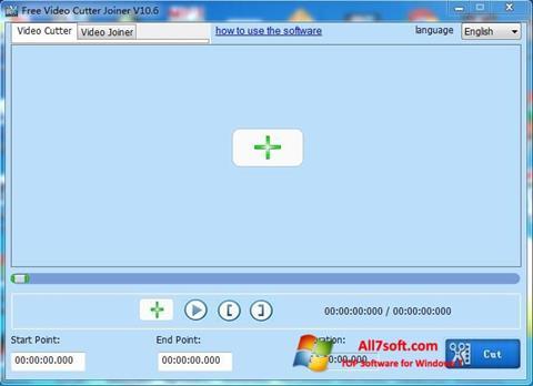 Capture d'écran Free Video Cutter pour Windows 7