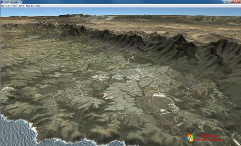 Capture d'écran NASA World Wind pour Windows 7