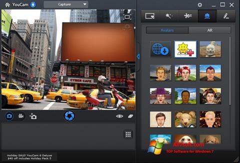 Capture d'écran CyberLink YouCam pour Windows 7